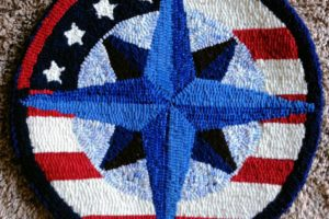 Compass Rose Chair Pads